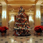 Lobby During the Holidays